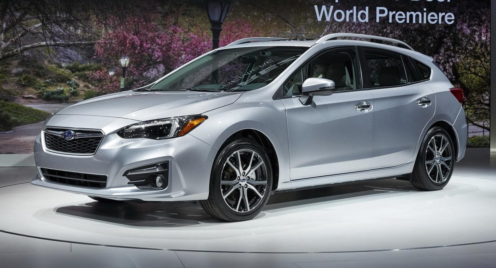 2017 Subaru Impreza Hatch Vs Concept