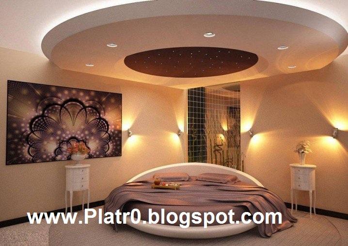Beautiful Ceiling Bedroom  Dcoration Platre Maroc  Faux Plafond Dallearc platre