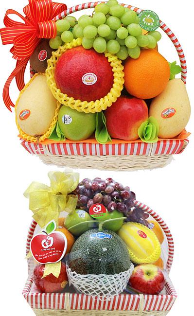 Giỏ hoa quả Phát Lộc