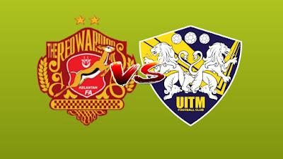 Live Streaming Kelantan vs UITM FC Liga Premier 14.6.2019