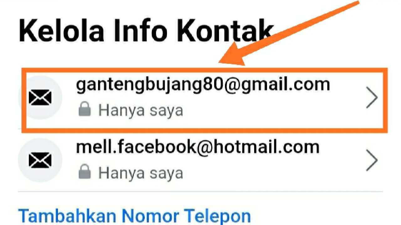Cara ganti email utama fb tanpa kena sesi