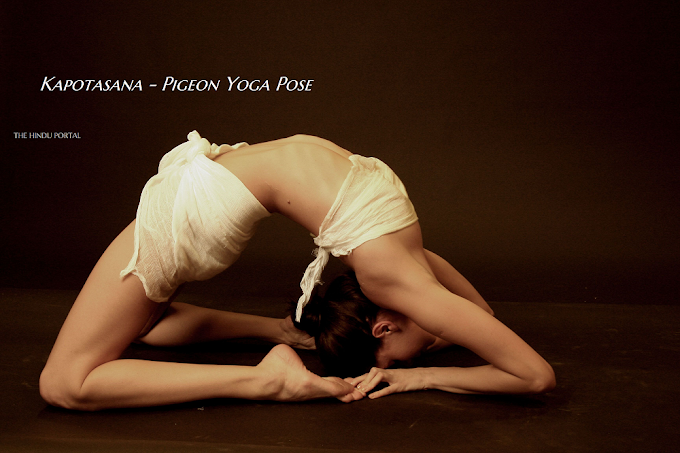 Kapotasana - Pigeon Yoga Pose