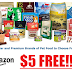 $5 of Free Pet Food or Pet Supplies! Amazon Prime Member Deal Who Have Previously Made a Pet Profile