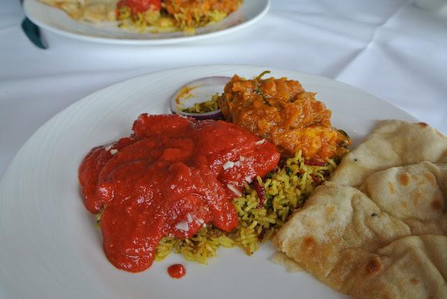 Le Raaj indian restaurant curry house in Sedgefield Teeside North East