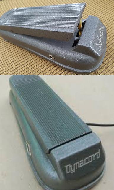 Das gleiche Pedal von zwei anderen Herstellern