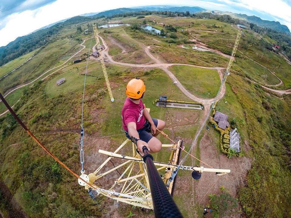 Danasan Eco Park – Test Your Adventurous Side Danao City Cebu twin tower adventure