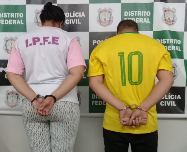 Casal suspeito de matar os próprios filhos é preso em Ceilândia