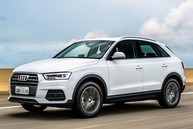 Audi Q3: carro premium mais vendido do Brasil - ranking