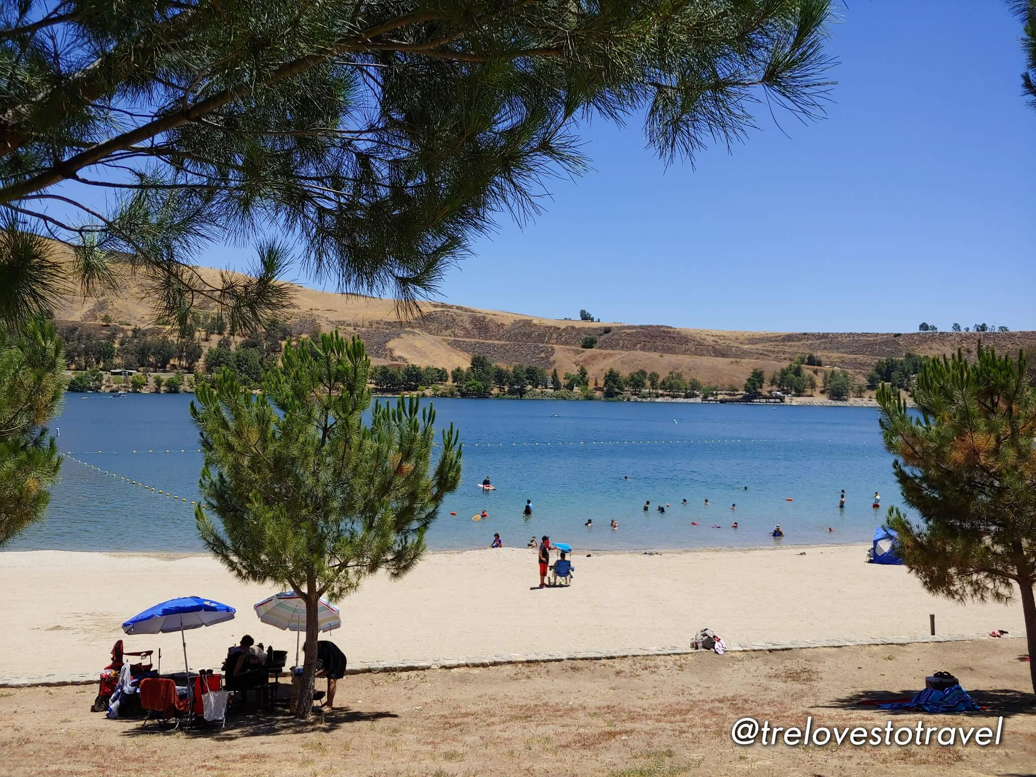 How to get to Castaic Lake California
