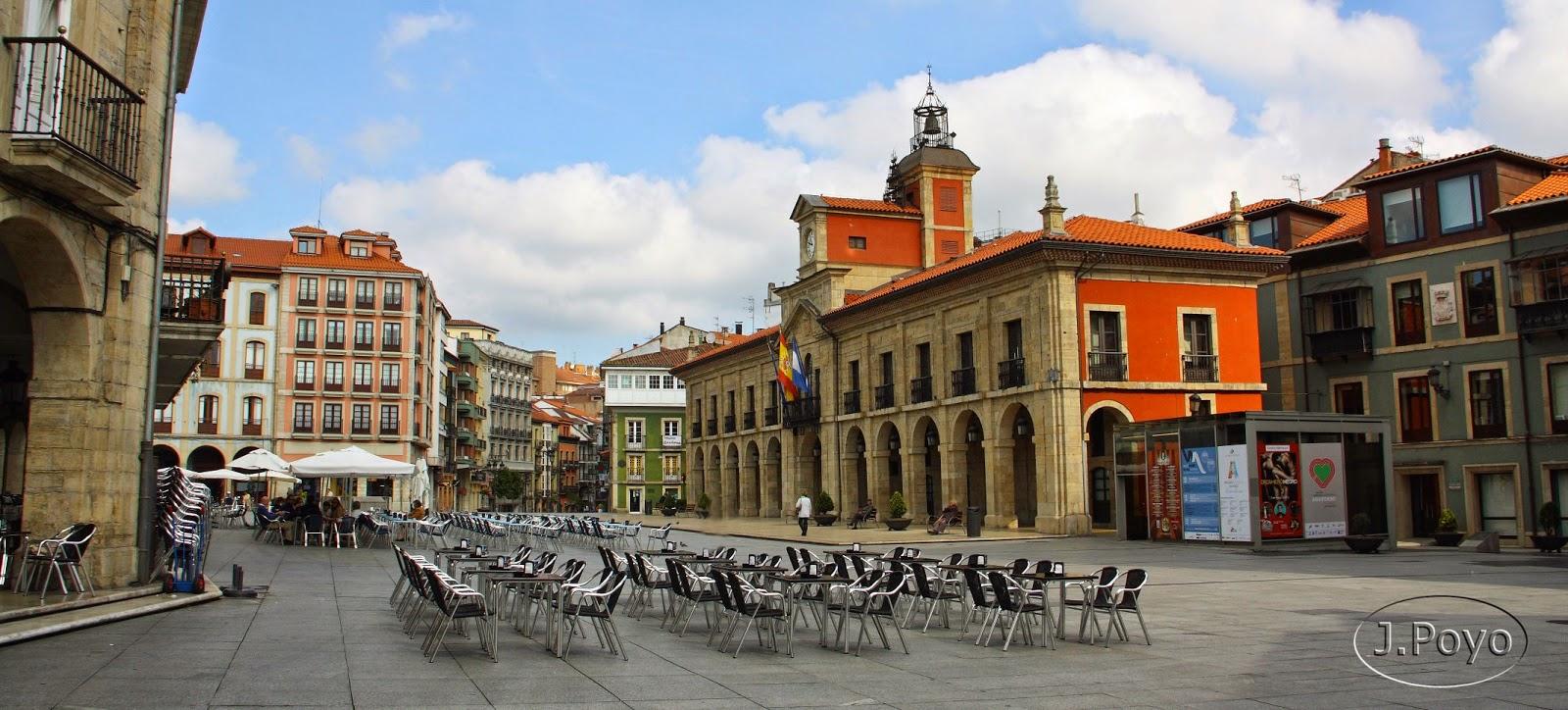 Plaza de España de Avilés