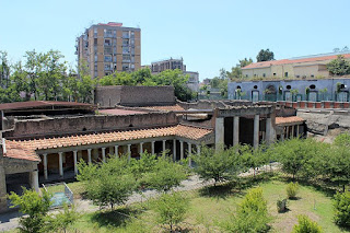 Visitors to Torre Annunziata can see the remains of the Villa Oplontis, an ancient Roman complex