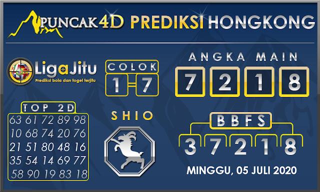 PREDIKSI TOGEL HONGKONG PUNCAK4D 05 JULI 2020