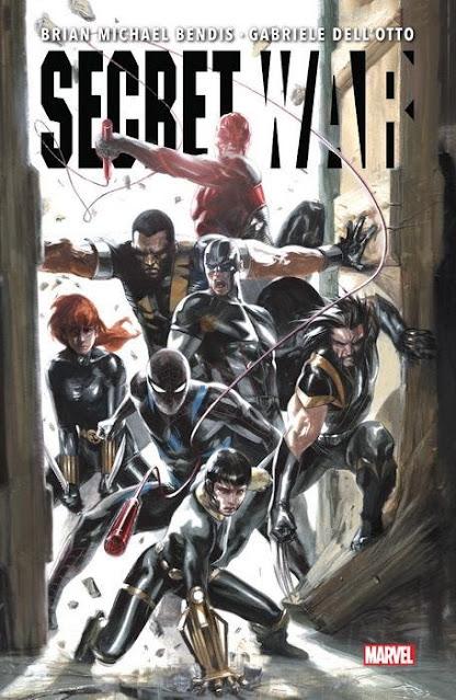 Reseña de Marvel Integral. Secret War de Brian Michael Bendis, Panini Comics