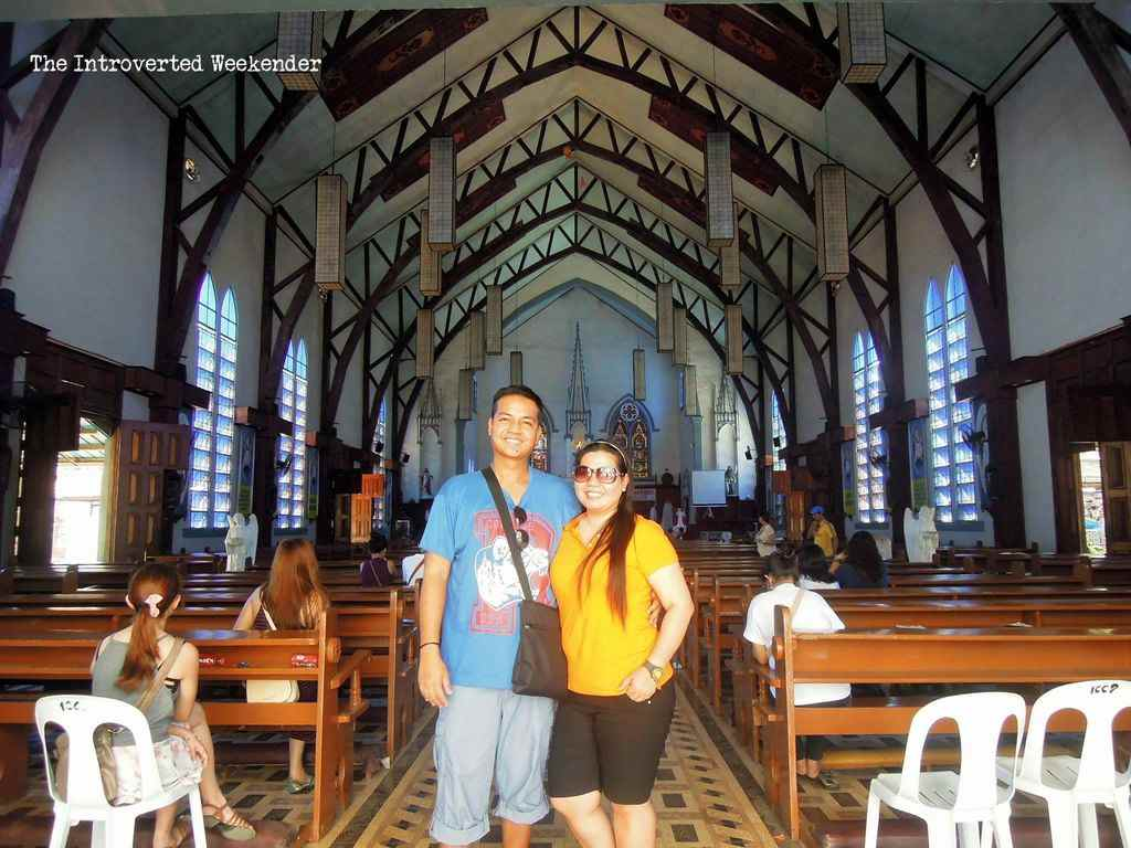 inside the Immaculate Conception Cathedral