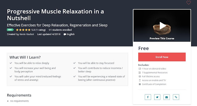 Progressive Muscle Relaxation in a Nutshell