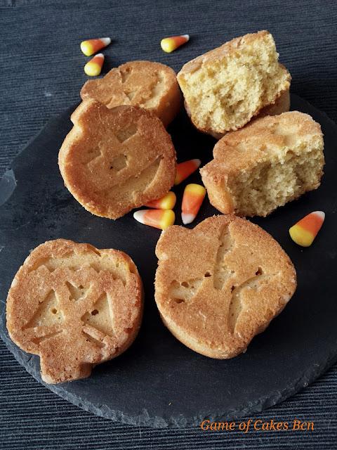 Halloween bizcochitos de calabaza y almendra