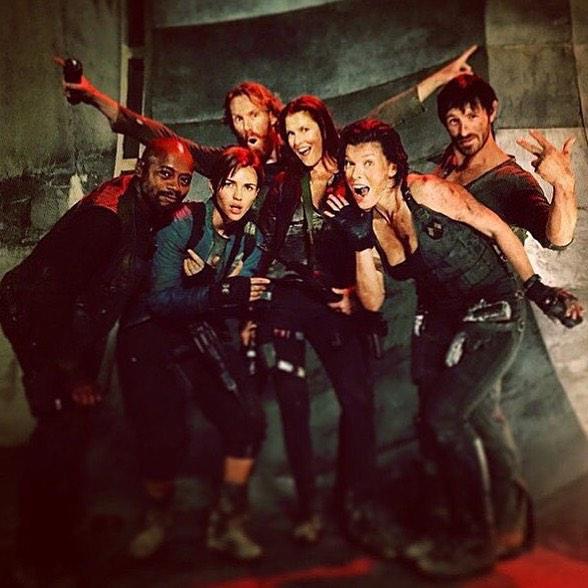 Post Credit Coda Resident Evil The Final Chapter Residual Evil