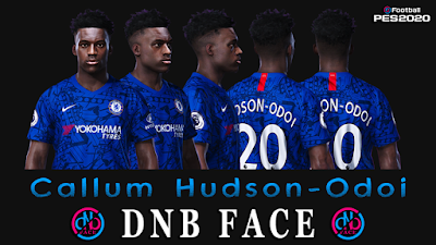 PES 2020 Faces Callum Hudson-Odoi by DNB