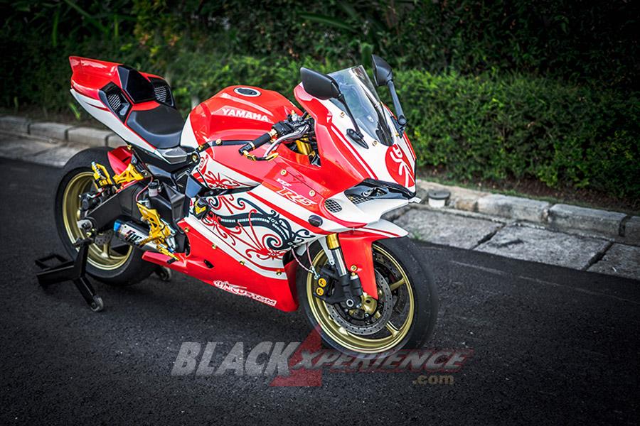 Yamaha R25 disulap Model Motor Ducati