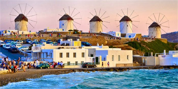 Come fare a Mykonos
