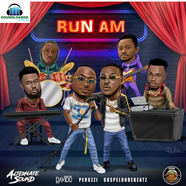 """Alternate Sound Records Boss GospelOnDeBeatz recruits DMW Crew including Mata Singer Peruzzi & DMW Boss Davido for new song titled """"Run Am""""  GospelOnDeBeatz announces he has collaboration with Peruzzi & Davido earlier this morning on instagram, Run Am is what they've been working on,  Gospelondebeatz made it clear for fans   That he'll officially release the song   On 25th August 2018 via his instagram   Page, Listen ,Download, Share and Enjoy."""