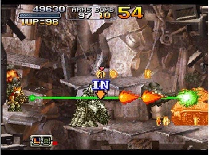 Metal Slug 7 (U) NDS ROM