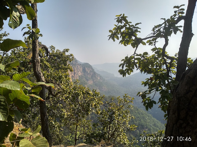 Priyadarshini View Point from Panchmari