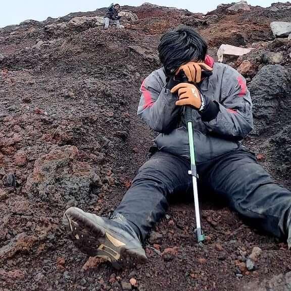 Mendaki gunung bisa mematangkan mental - foto instagram _nurdiansyah08