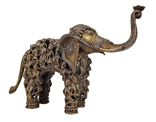 HANDCRAFTED BRASS ELEPHANT FOR HOME DECOR