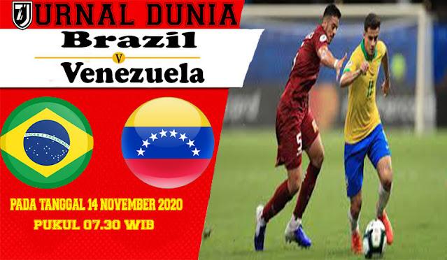 Prediksi Brasil Vs Venezuela, Sabtu 14 November 2020 Pukul 07.30 WIB @ Mola TV