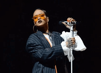 Rihanna se presenta en el Festival Global Citizen 2016
