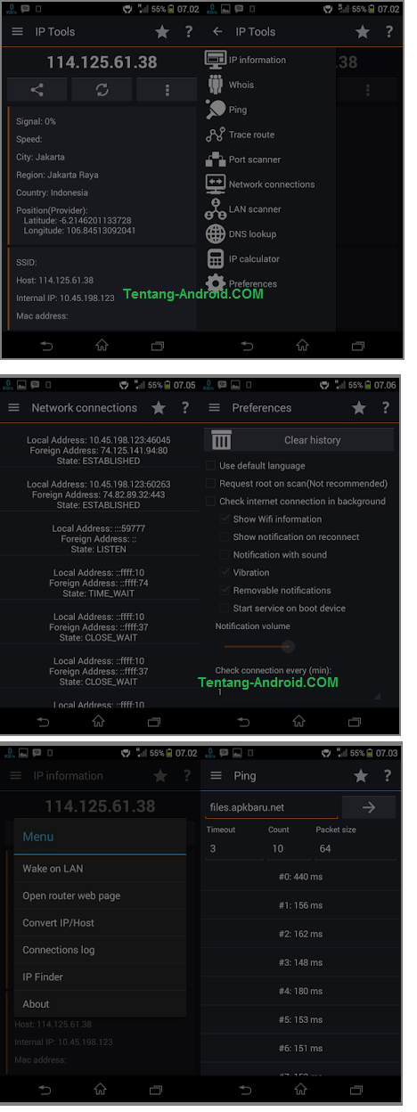 Download IP Tools Premium v 6.10 APK Download 6.10 v Premium Tools IP APK