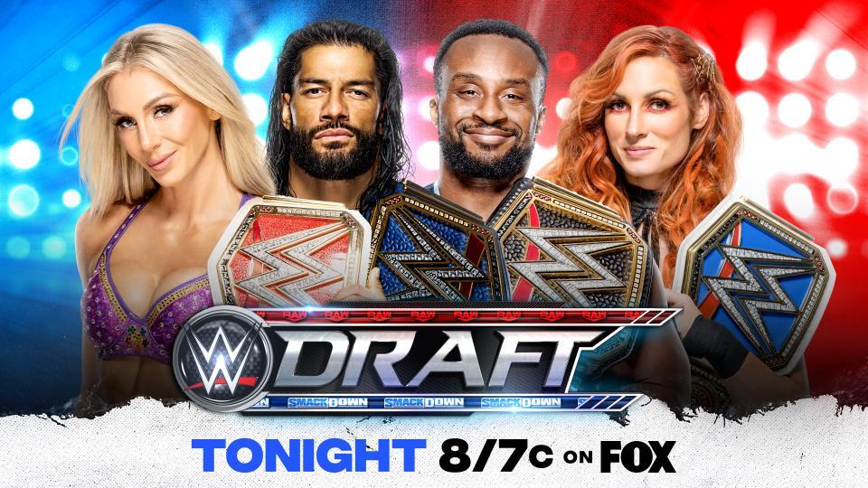 Definidos os planteis do RAW e SmackDown
