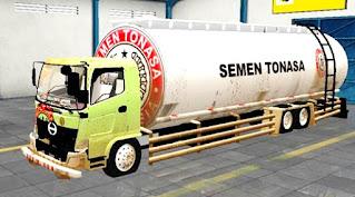 Download mod Truck hino Tanki Semen Curah