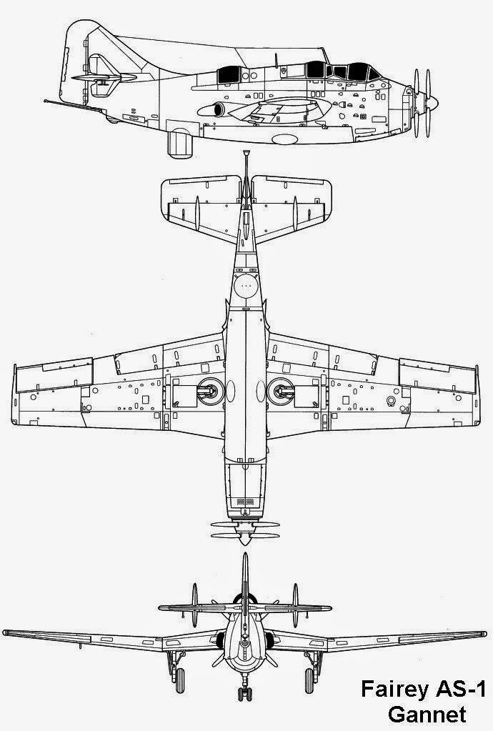 airplane scale modelkit  fairey mk iv ganet