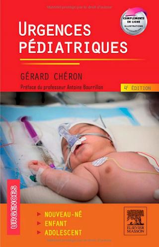 Urgences pédiatriques Livre d'Antoine Bourrillon et Gérard Chéron