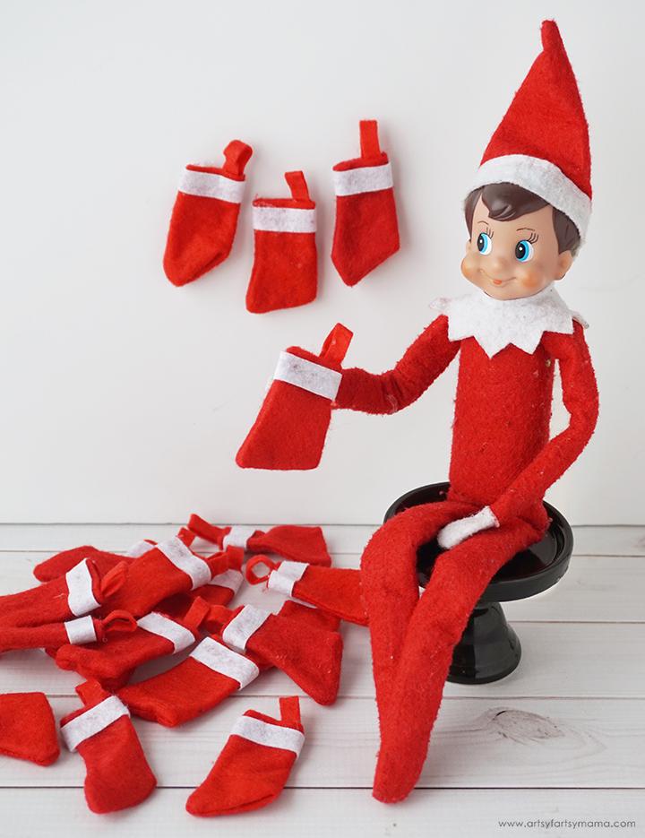 Elf on the Shelf Stocking Countdown