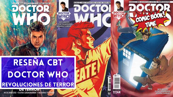 """Cómic reseña: """"Doctor Who Décimo Doctor Revoluciones De Terror"""""""