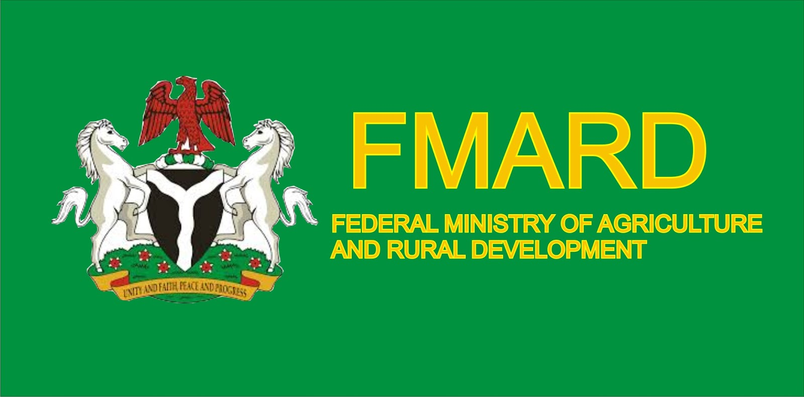 Federal Ministry Of Agriculture And Rural Development FMARD Recruitment 2018