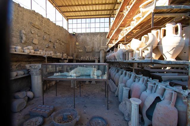 Reperti archeologici-Scavi di Pompei