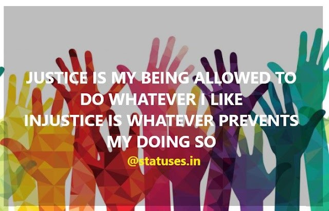 World Day of Social Justice 2019 Status in English