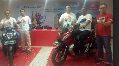 Honda Luncurkan Genio dan ADV150, Ini Pilihan Warna dan Harga di Aceh