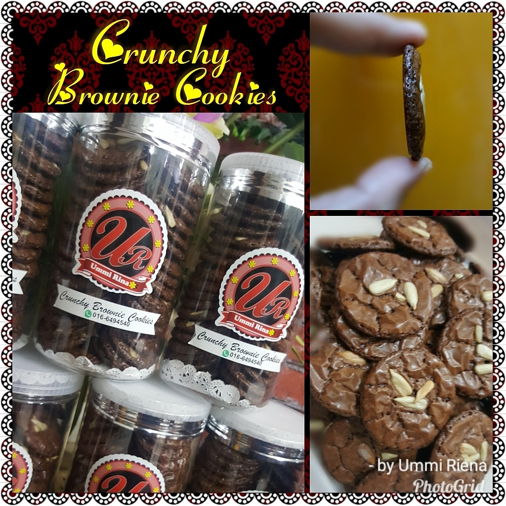 CRUNCHY BROWNIE COOKIES