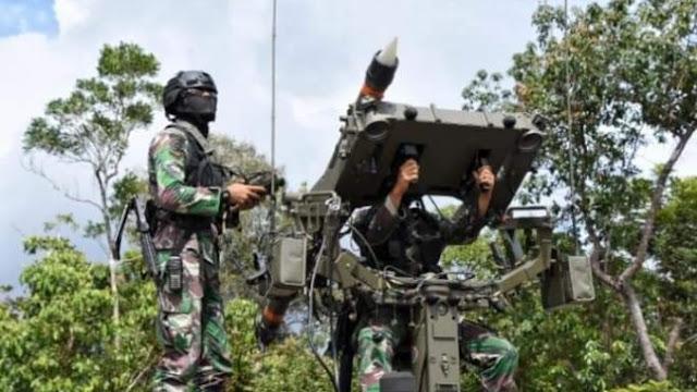 Rudal Mistral Batalyon Arhanud 10/Gagak Hitam