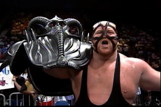 WCW Great American Bash 1992 - Vader beat Sting for the WCW title