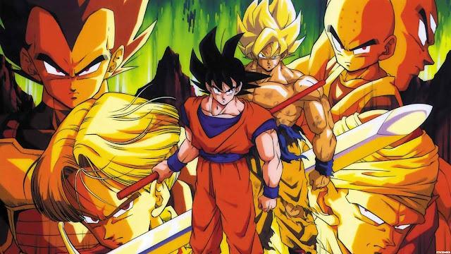 Já adulto, Goku conhece seu irmão mais velho Raditz, que lhe informa que ambos são membros de uma raça extraterrestre, os Saiyajins. Tal raça enviou Goku ainda criança para a Terra com o objetivo de conquistar o planeta, mas ele fere sua cabeça logo após a aterrissagem e esquece sua missão inicial. Goku se nega a ajudar Raditz a continuar a missão e começa a confrontar outros inimigos do espaço.