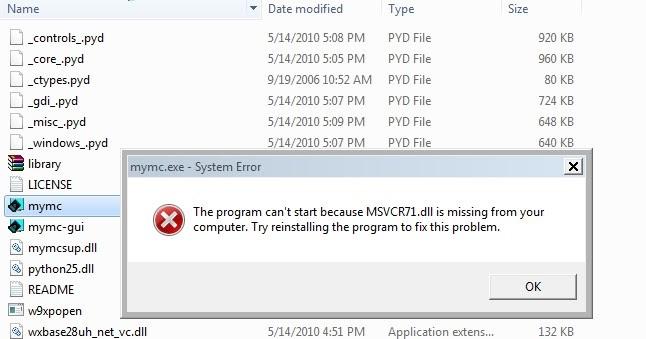 mymc-alpha-2.6 windows 10