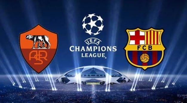 Dove Vedere ROMA-BARCELLONA Streaming Diretta Live Online | Calcio Champions League in chiaro su Canale 5