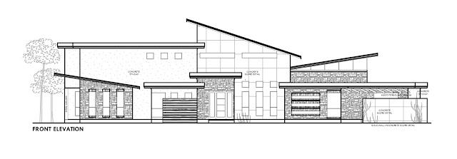 Contemporary style home exterior
