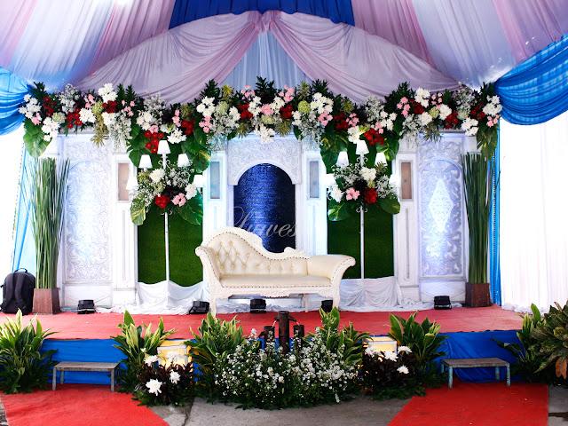 Vendor jasa dekorasi resepsi pernikahan pelaminan dan tenda